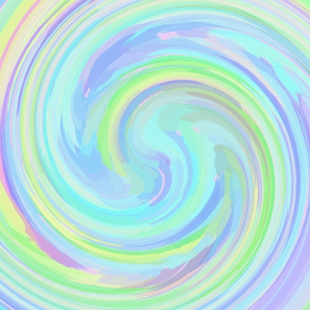 pastel colored: Beautiful pastel colored swirl background for your design in pink, green and blue spectrum Stock Photo