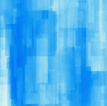 boyish: Abstract background with geometric objects. Digital painting in blue spectrum Stock Photo