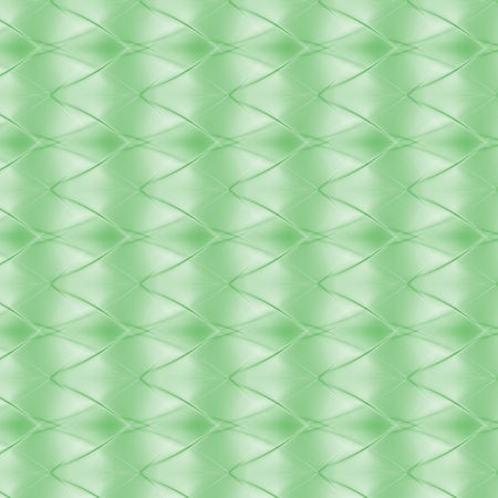 zig zag: Abstract zig zag background in green spectrum Stock Photo