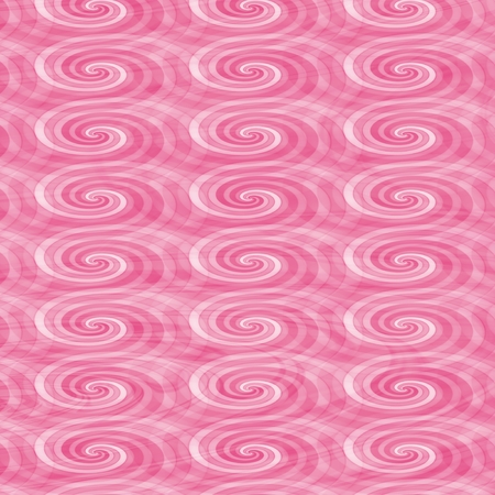 spectrum: Seamless pattern with abstract swirls in pink spectrum