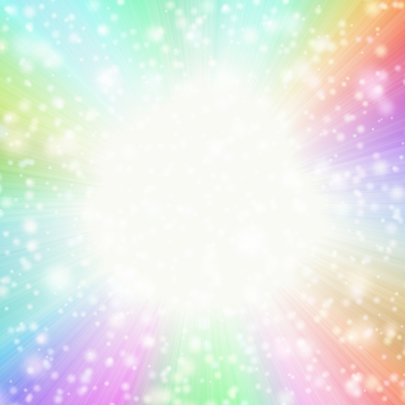 Abstract star-burst background in pastel colors