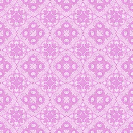 dazzling: Seamless ornate pattern or background in pink color Stock Photo