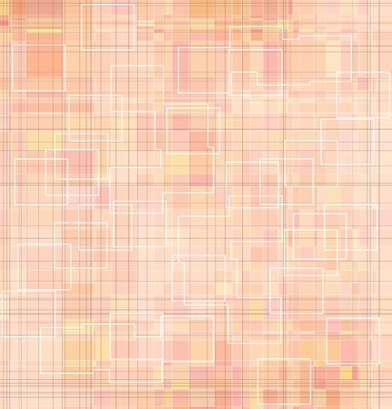 pastel colored: Abstract geometrical background. Pastel colored in orange, pink, yellow
