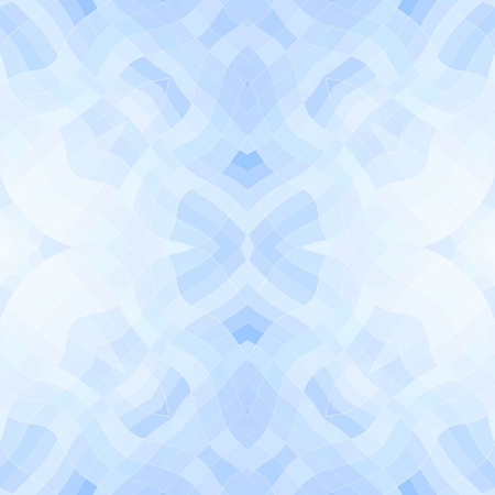 dazzling: Seamless mosaic pattern or texture in blue color Stock Photo