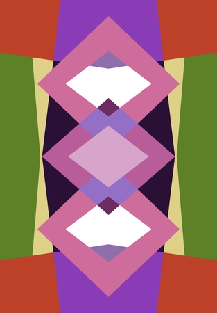 fond polygonale Colorful se composent de formes géométriques. fond d'écran polygonal ou un motif