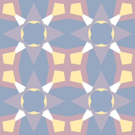 harmonize: Pastel colored seamless pattern. Polygonal background Illustration