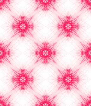 tileable: Pink ornate background. Seamless pattern for girls. Tileable wallpaper.
