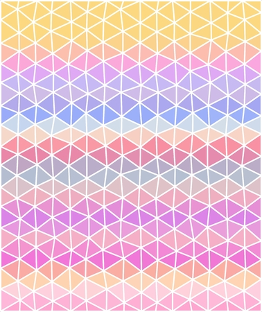 pastel colored: Pastel colored polygonal illustration consist of triangles. Triangular background