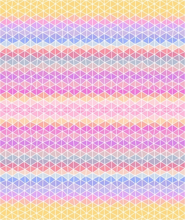 Pastel colored triangular background. Seamless pattern