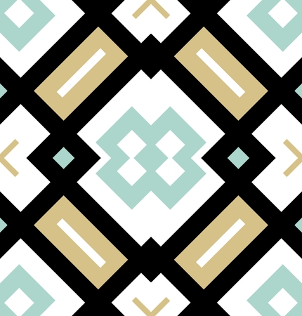 Colored seamless geometrical pattern. Modern stylish texture. Repeating endless tile for flyers, wrapping papers, web backgrounds, scrapbook, fabric design etc