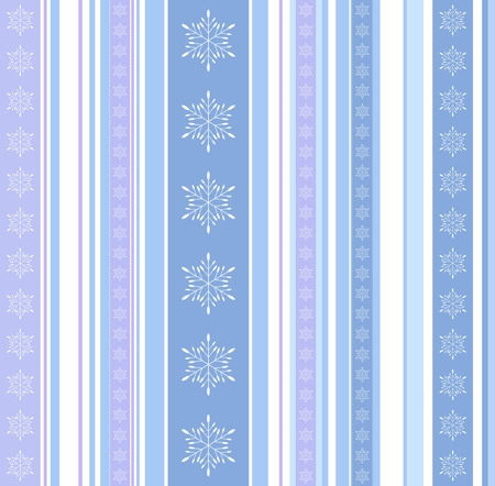 Abstract seamless pattern with stripes, bars, and snowflakes, flakes texture. New Year, Christmas geometrical background or texture in blue, lilac hues.