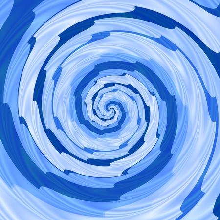 Abstract spiral background in pink, blue and white color