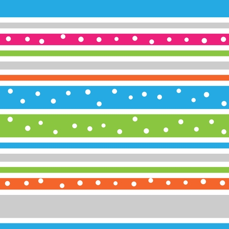 Abstract horizontal striped seamless pattern. Vibrant colored background. Wrapping paper. Pattern for interior- and fabric design. Retro style.