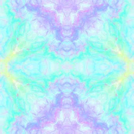 Abstrakter mehrfarbiger kaleidoskopischer Hintergrund. Nahtloses Muster für Geschenkpapiere und Stoff- oder Papierdrucke