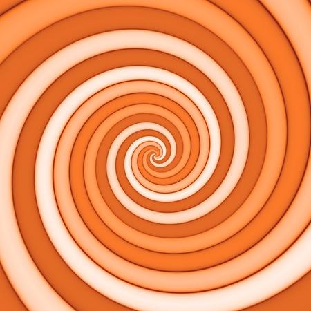 Spiral pattern background in orange spectrum Reklamní fotografie - 120203982