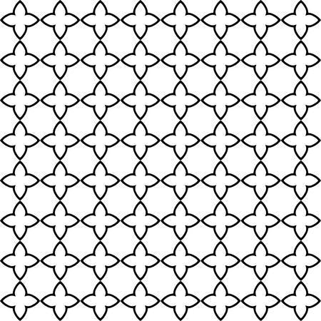 Abstract background texture in ornamental style. Tileable seamless design. Monochromatic pattern