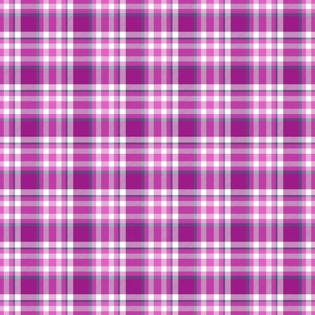 Seamless geometric gingham pattern. Abstract background. Grey, pink, purple and white stripes. Chequered pattern for swatch