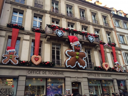 Christmas market at Strasbourg