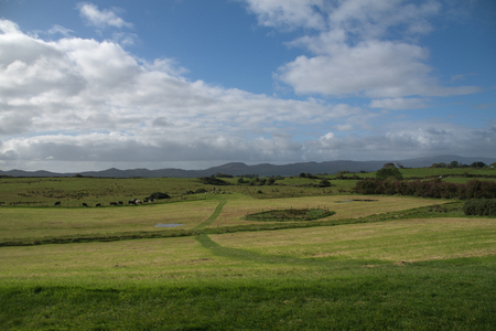 Landscape from Carrowmore in Sligo, Ireland