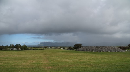 Landscape from Carrowmore and the megalithic in Sligo, Ireland