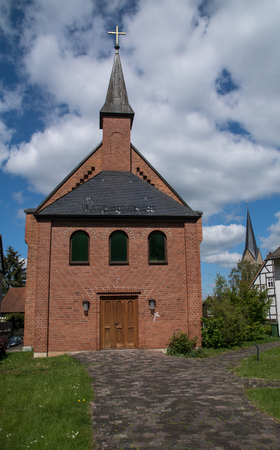 Christus church in the german city Korbach