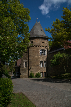 Tower of the old town wall called Wollweberturm