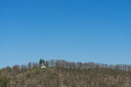Chapel called Kreuzbergkapelle of the german village Braunshausen