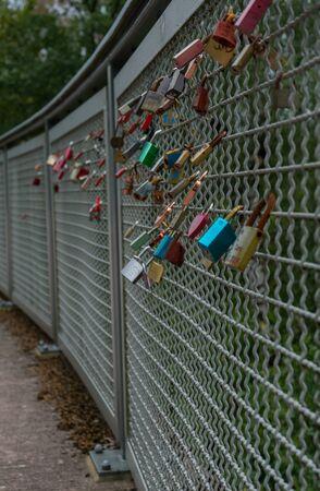 Locks at the german lake called Diemelsee