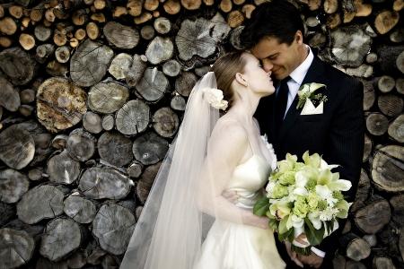 Wedding Couple Standard-Bild