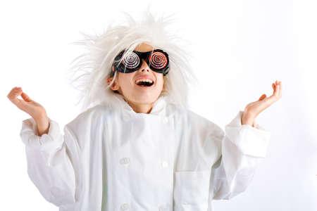 Gekke wetenschapper Stockfoto - 10698924