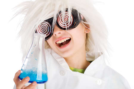 mad scientist photo
