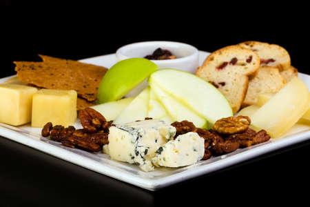 galletas integrales: queso y galletas