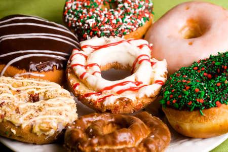 vers gebakken donuts
