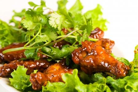바베큐 닭 날개