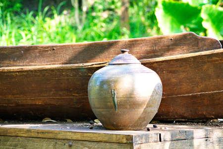 earthy: Old jar