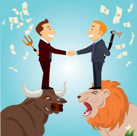 stratagem: businessman Illustration