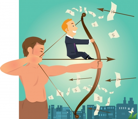 stratagem: businessman Illustration