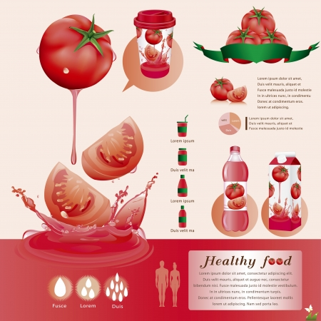 food packaging: Tomato juice