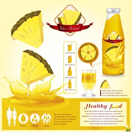 pineapple slice: Pineapple juice