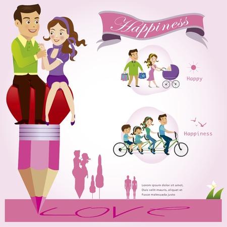 swain: Couples illustration Illustration