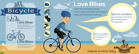 bicycle infographics