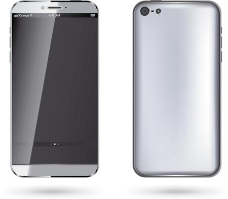 palmtop: Mobile phone - Illustration