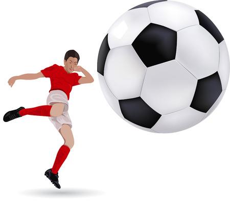 Football vector Vector
