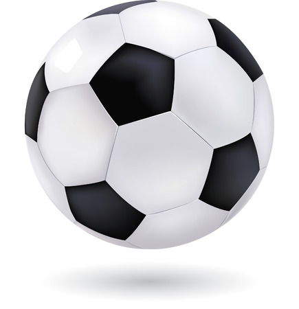 soccerball: Football vector Illustration