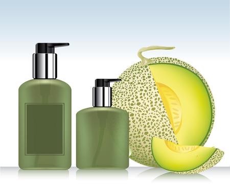 wash face: Perfume bottle