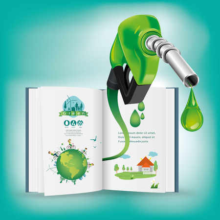 nozzle: Gasoline Fuel Nozzle giving a drop