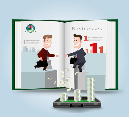 businessman.vector illustration