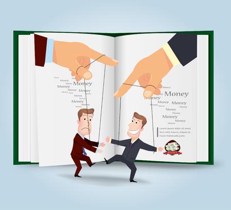 stratagem: businessman.vector illustration