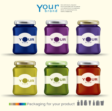 bottle design for your product.vector