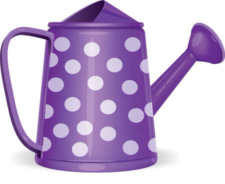 watering can isolated on white.vector
